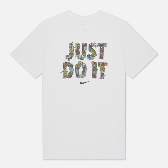 Мужская футболка Nike Just Do It Basketball White