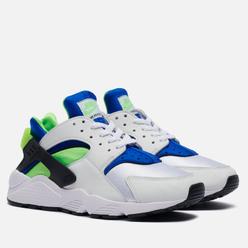 Кроссовки Nike Air Huarache Scream Green White/Scream Green/Royal Blue/Black