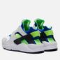 Кроссовки Nike Air Huarache Scream Green White/Scream Green/Royal Blue/Black фото - 2