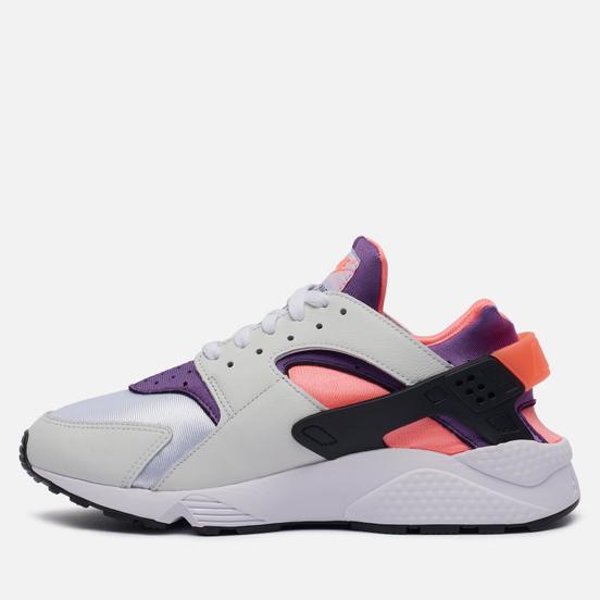 Кроссовки Nike Air Huarache Bright Mango White/Purple/Bright Mango/Black