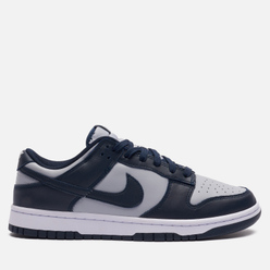 Мужские кроссовки Nike Dunk Low Retro UNLV Georgetown Wolf Grey/Dark Obsidian/Total Orange