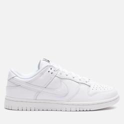 Женские кроссовки Nike Dunk Low White/White/White
