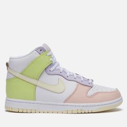 Кроссовки Nike Wmns Dunk High Lemon Twist White/Cashmere/Light Lemon Twist