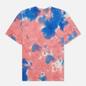 Мужская футболка Nike Premium Essential Tie-Dye White/Light Fusion Red/Signal Blue/White фото - 0