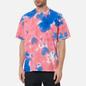Мужская футболка Nike Premium Essential Tie-Dye White/Light Fusion Red/Signal Blue/White фото - 2