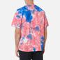 Мужская футболка Nike Premium Essential Tie-Dye White/Light Fusion Red/Signal Blue/White фото - 3