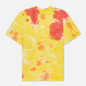Мужская футболка Nike Premium Essential Tie-Dye White/Yellow Strike/Total Orange/White фото - 0