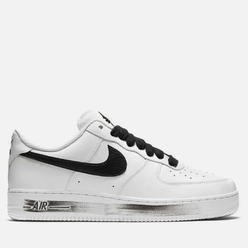Мужские кроссовки Nike x PEACEMINUSONE Air Force 1 '07 Para-Noise White/Black/White
