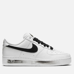 Кроссовки Nike x PEACEMINUSONE Air Force 1 '07 Para-Noise White/Black/White