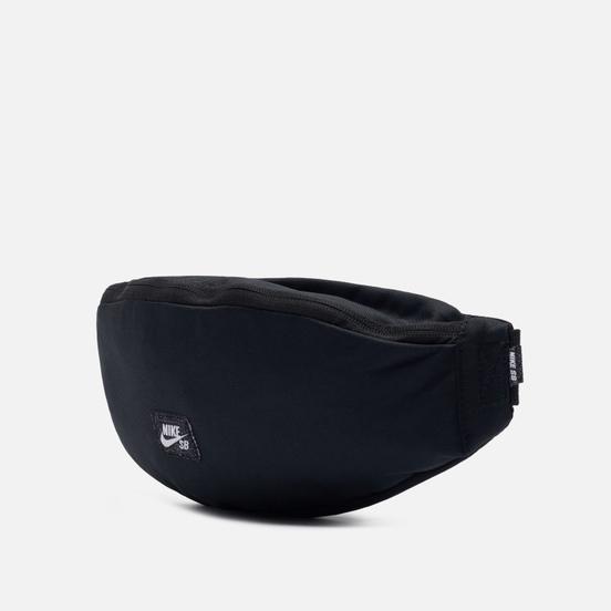 Сумка на пояс Nike SB Heritage Fanny Pack Black/Black/White