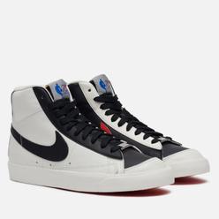 Мужские кроссовки Nike x NBA Blazer Mid 77 Embroidered Trail Blazers Sail/Black/Chile Red/Sail