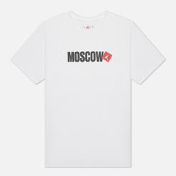 Мужская футболка Jordan Moscow City White