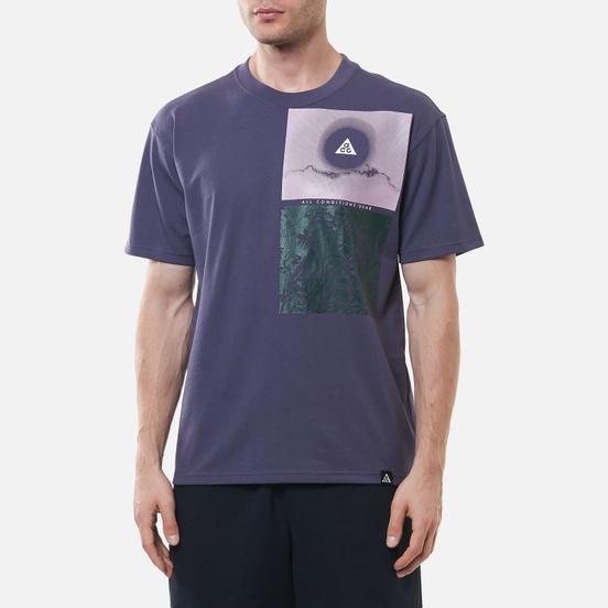 Мужская футболка Nike ACG NRG Nature Dark Raisin