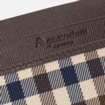 Держатель для карточек Aquascutum Double Club Check Brown фото- 2