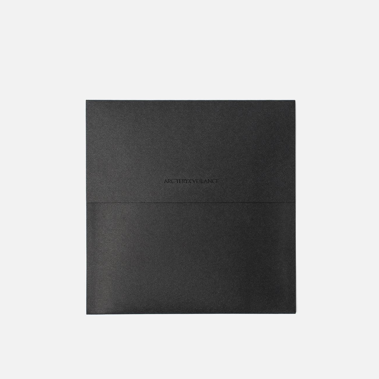 Держатель для карточек Arcteryx Veilance Casing Card Wallet Black