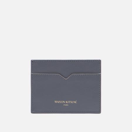 Держатель для карточек Maison Kitsune Leather Anthracite