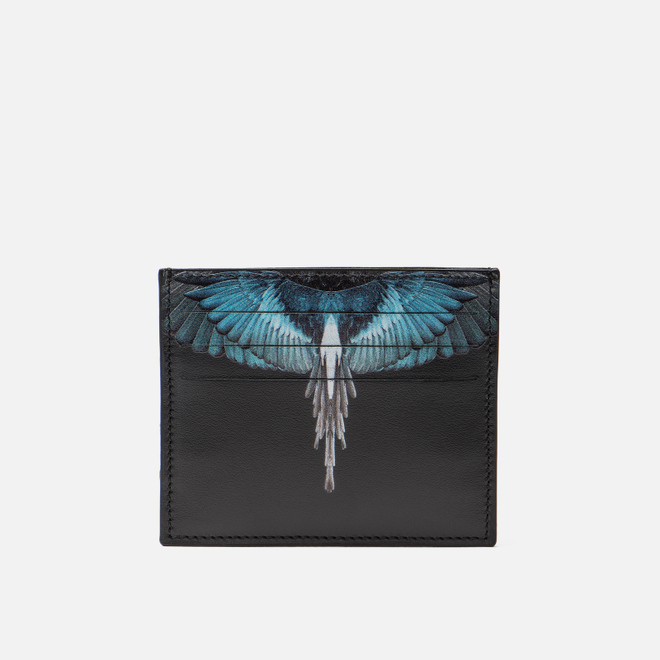 Держатель для карточек Marcelo Burlon Turquoise Wings Black/Multicolor