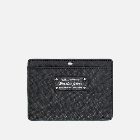 Master-Piece Noble Leather Card Holder Black