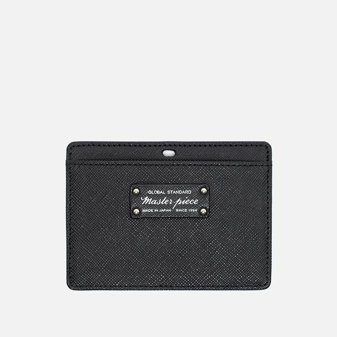 Держатель для карточек Master-piece Noble Leather Black