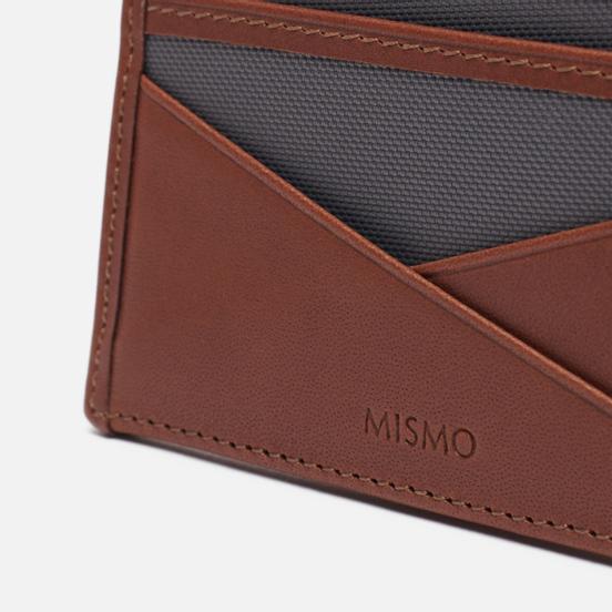 Держатель для карточек Mismo M/S Cardholder Concrete/Cuoio
