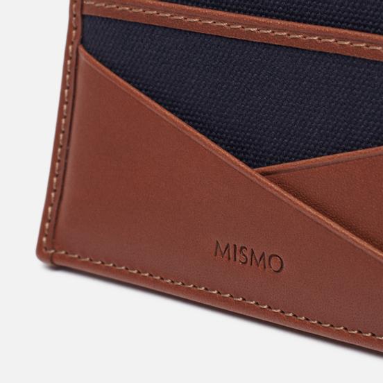 Держатель для карточек Mismo M/S Cardholder Midnight Blue/Cuoio