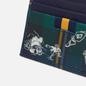 Держатель для карточек Polo Ralph Lauren Tartan Textured Smooth Leather Green фото - 2