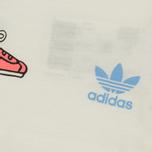 Детская футболка adidas Originals x Mini Rodini Print Off White/Bahia Light Blue фото- 3