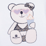 Детская футболка Aquascutum Teddy White фото- 2