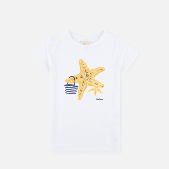 Детская футболка Barbour Chock White