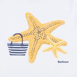 Детская футболка Barbour Chock White фото- 2