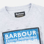 Детская футболка Barbour International One Piece Grey Marl фото- 1