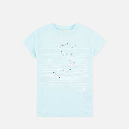 Barbour Renishaw Seagull Children's t-shirt Aqua