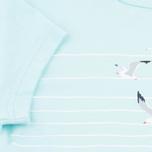 Детская футболка Barbour Renishaw Seagull Aqua фото- 3