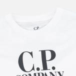 C.P. Company U16 Hood Print Children's t-shirt White photo- 1
