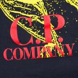 Детская футболка C.P. Company U16 Short Sleeve Hood Print Dark Navy фото- 3