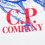 Детская футболка C.P. Company U16 Short Sleeve Hood Print White фото- 3