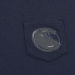 Детская футболка C.P. Company U16 Short Sleeve Pocket Dark Navy фото- 2