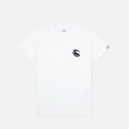 C.P. Company U16 Short Sleeve Pocket Children's t-shirt White