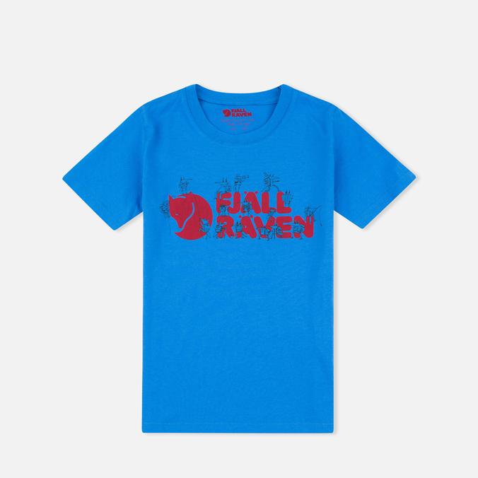 Детская футболка Fjallraven Trek Logo UN Blue