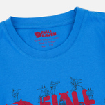 Детская футболка Fjallraven Trek Logo UN Blue фото- 1
