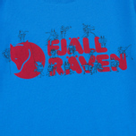Детская футболка Fjallraven Trek Logo UN Blue фото- 2