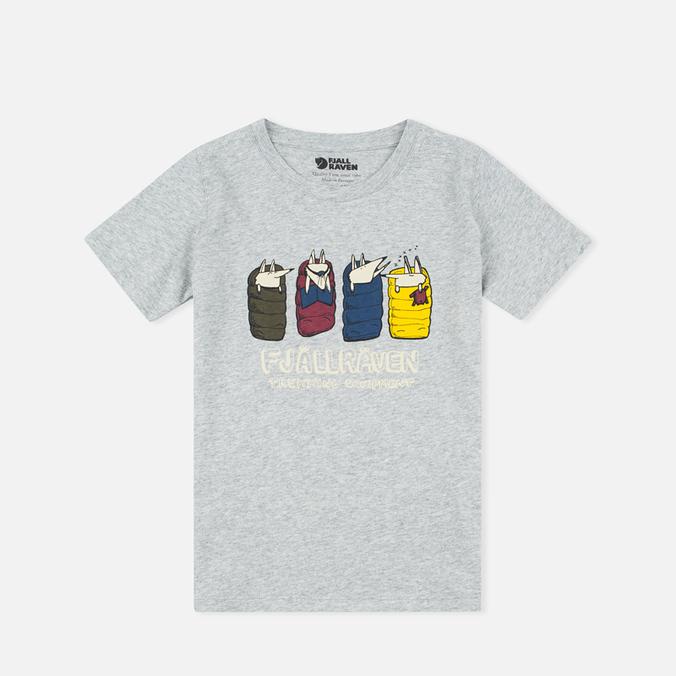 Детская футболка Fjallraven Trekking Fox Grey