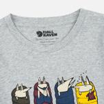 Детская футболка Fjallraven Trekking Fox Grey фото- 1