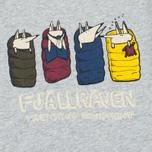 Детская футболка Fjallraven Trekking Fox Grey фото- 2