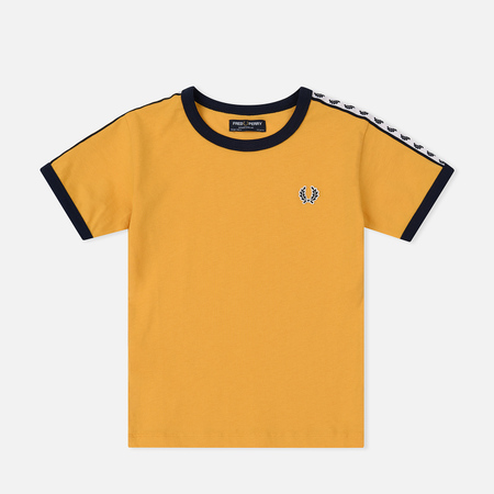 Детская футболка Fred Perry Taped Ringer Gold