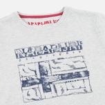 Детская футболка Napapijri K Savinci Light Grey фото- 2