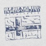 Детская футболка Napapijri K Savinci Light Grey фото- 3