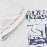 Детская футболка Napapijri K Savinci Light Grey фото- 4