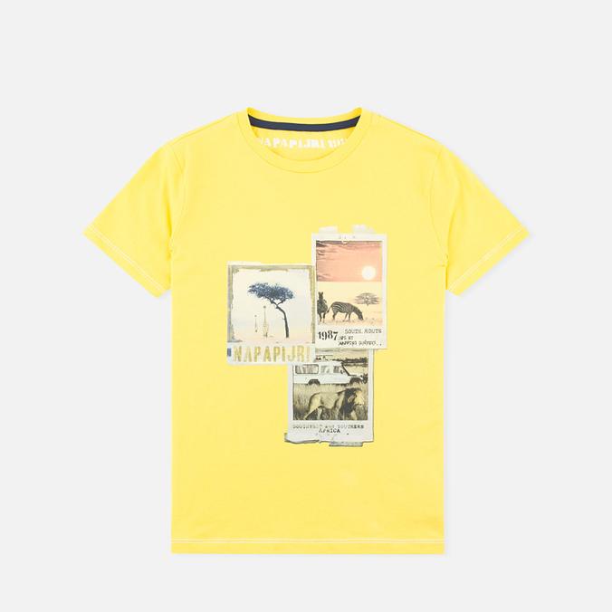 Детская футболка Napapijri K Spill Dandelion