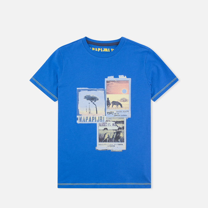 Детская футболка Napapijri K Spill Energy